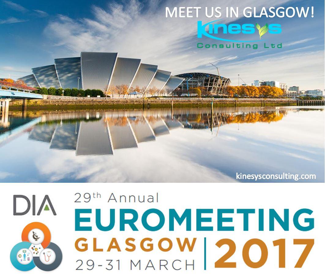 Meet Kinesys at the DIA 2017 Euromeeting