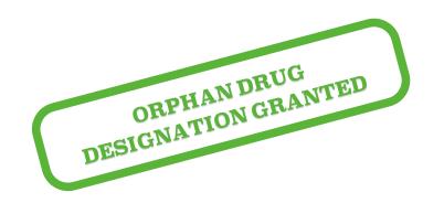 orphan drug designation granted